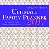 Ultimate Family Planner 2017 Square Wyman (17 Months with Pocket)