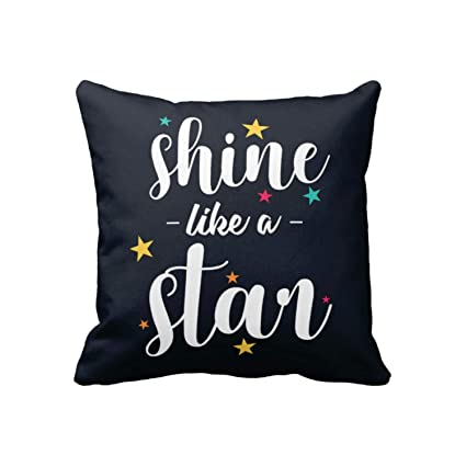 Buy Yaya Cafetm Motivational Quotes Printed Shine Like A Star