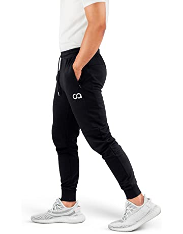 3e59083729 Contour Athletics Men's Joggers (Cruise) Sweatpants Men's Active Sports  Running Workout Pant With Zipper