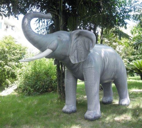 Incredibly Lifelike Inflatable Elephant inches