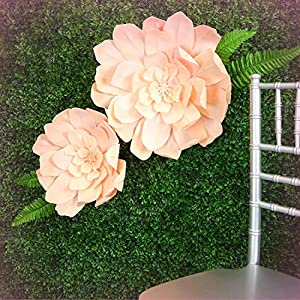 """Inna-Wholesale Art Crafts New 4 pcs 24"""" Blush Artificial Daisy Decorating Flowers for Wall Backdrop Party Craft - Perfect for Any Wedding, Special Occasion or Home Office D?cor 1"""