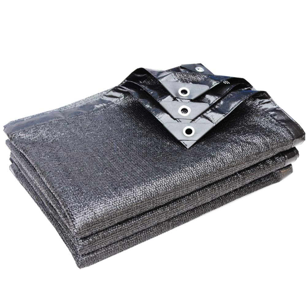 Noir 5x8m GDMING Filet De Camouflage Prougeection des Ombres des Plantes Lissage des Mailles Résistance Aux Rides Facile à Porter Polyester, 23 Tailles (Couleur   Noir, Taille   3x10m)