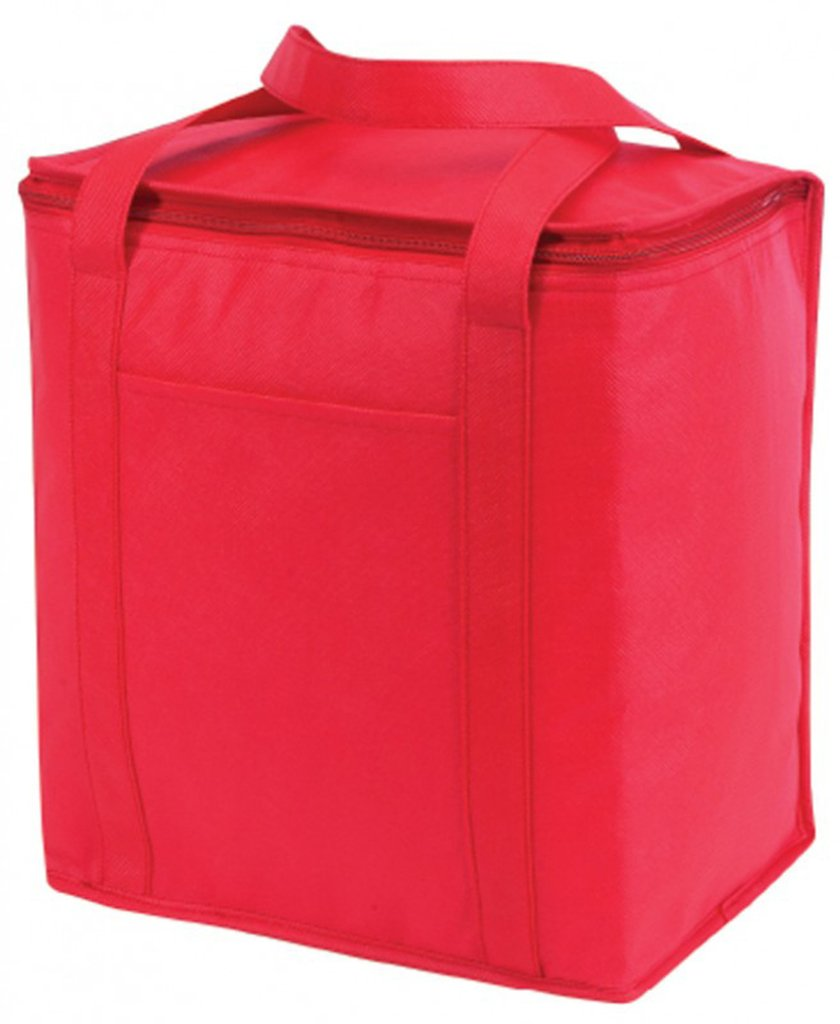 DDI 1923262 Non Woven Cooler Tote bag44 ;レッド – スタイルNo。067 B01HMSBRU4