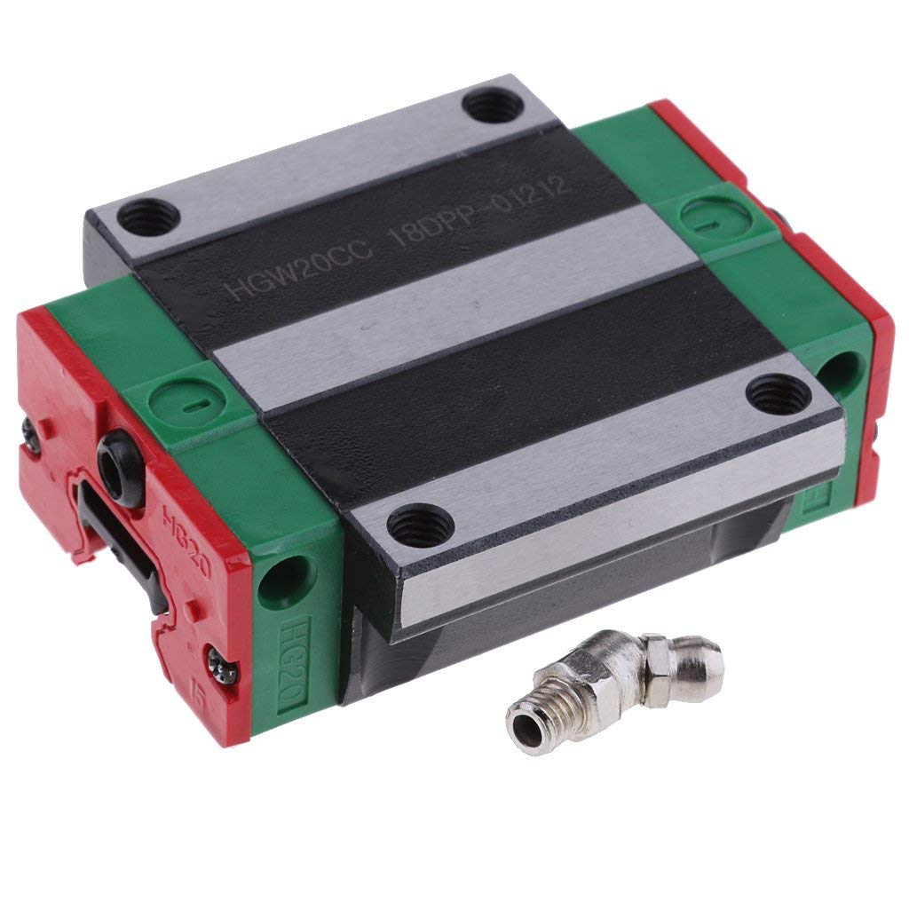 Tubayia - Bloque de guía Lineal Cuadrado para Impresora 3D CNC ...