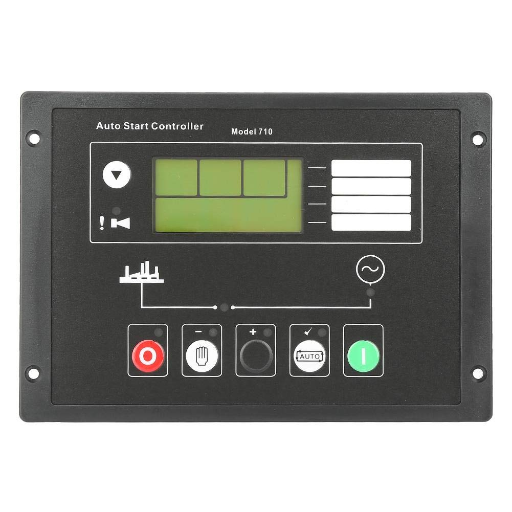 Auto Start Control Panel, DSE710 Generator Auto Start Control Panel for Deep Sea Electronics Spare Parts by Neufday
