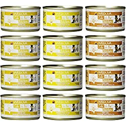 Cedar Crate Market Weruva Cats in The Kitchen Grain-Free Canned Cat Food - 3.2 Ounces - 3 Flavors - Goldie Lox, Fowl Ball, and Chicken Frik 'A Zee (12 Cans Total)