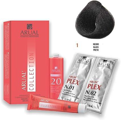 Arual Tinte Nº 1 Negro 1 Unidad 80 g