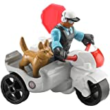 Fisher-Price Rescue Heroes - Jake Justice & Motorcycle