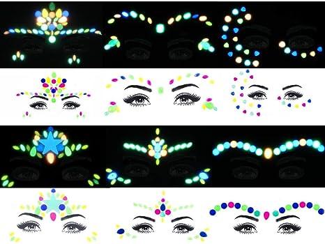 Cara Gema luz de la noche resplandeciente cara Gema rostro tatuaje ...