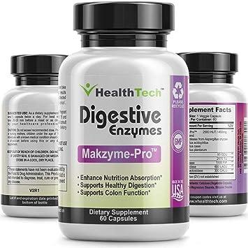 Amazon.com: Las enzimas digestivas con Probiotics – lipase ...