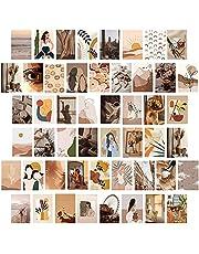 50 stks esthetische afbeelding muur collage kit 4x6 inch muur kunst afdrukken voor jongens meisjes kamer VSCO posters slaapzaal fotoweergave, 10x15cm kamer decor