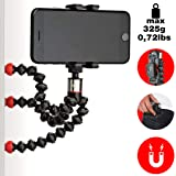 Joby Griptight One Gorilla pod Magnetic with Impulse for Smartphones with Or Without A Case, Black, (JB01494-BWW)