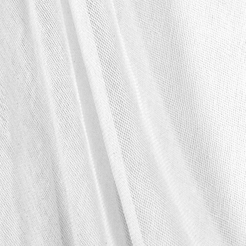 White Cotton Scrim Fabric - 5 Yard Roll