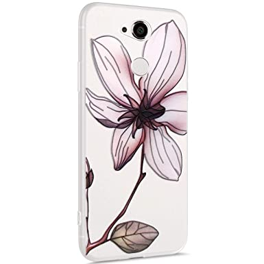 Surakey - Carcasa para Sony Xperia XA2, diseño de flores y ...