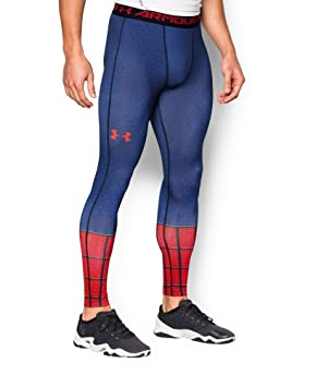 63fbf458ed4f9 Under Armour Men's Alter Ego Spider-Man Compression Leggings XXX-Large Royal