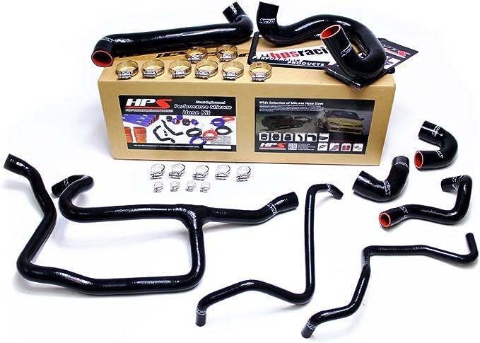 Silicone Radiator Hose Kit BMW 325i E30 88 89 90 91 92 93 RED