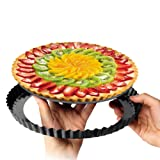 Tart Pan,2 Pack 9 Inch Non-Stick with Removable