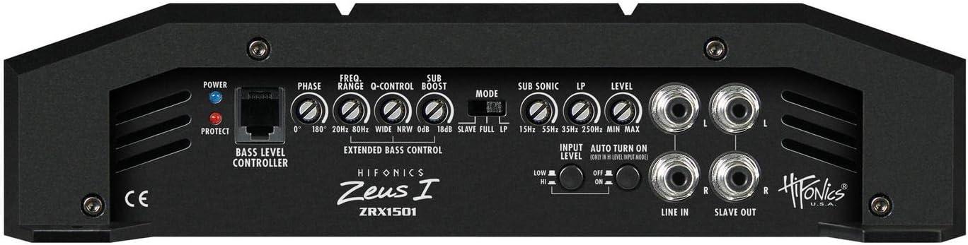 Hifonics ZRX1501 Class A//B 1-canale-amplificatore