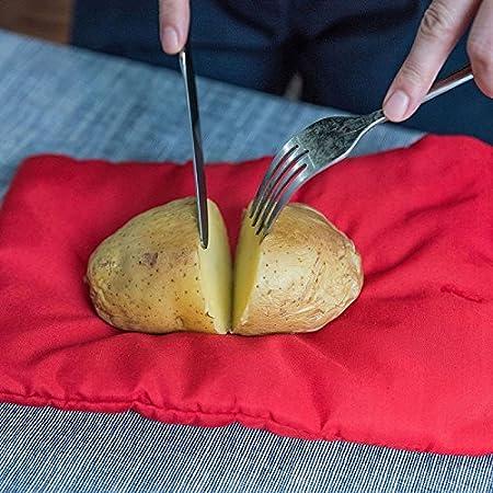 TiooDre Tatoes Bolsa para Patatas en Microondas, Bolsa de Cocina ...