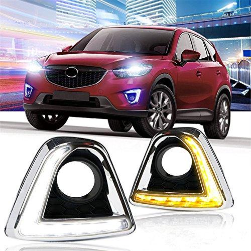 [해외]Baodiparts 2Pcs Car LED Daytime Running Light DRL Fog light Day Light / Baodiparts 2Pcs Car LED Daytime Running Light DRL Fog light Day Light