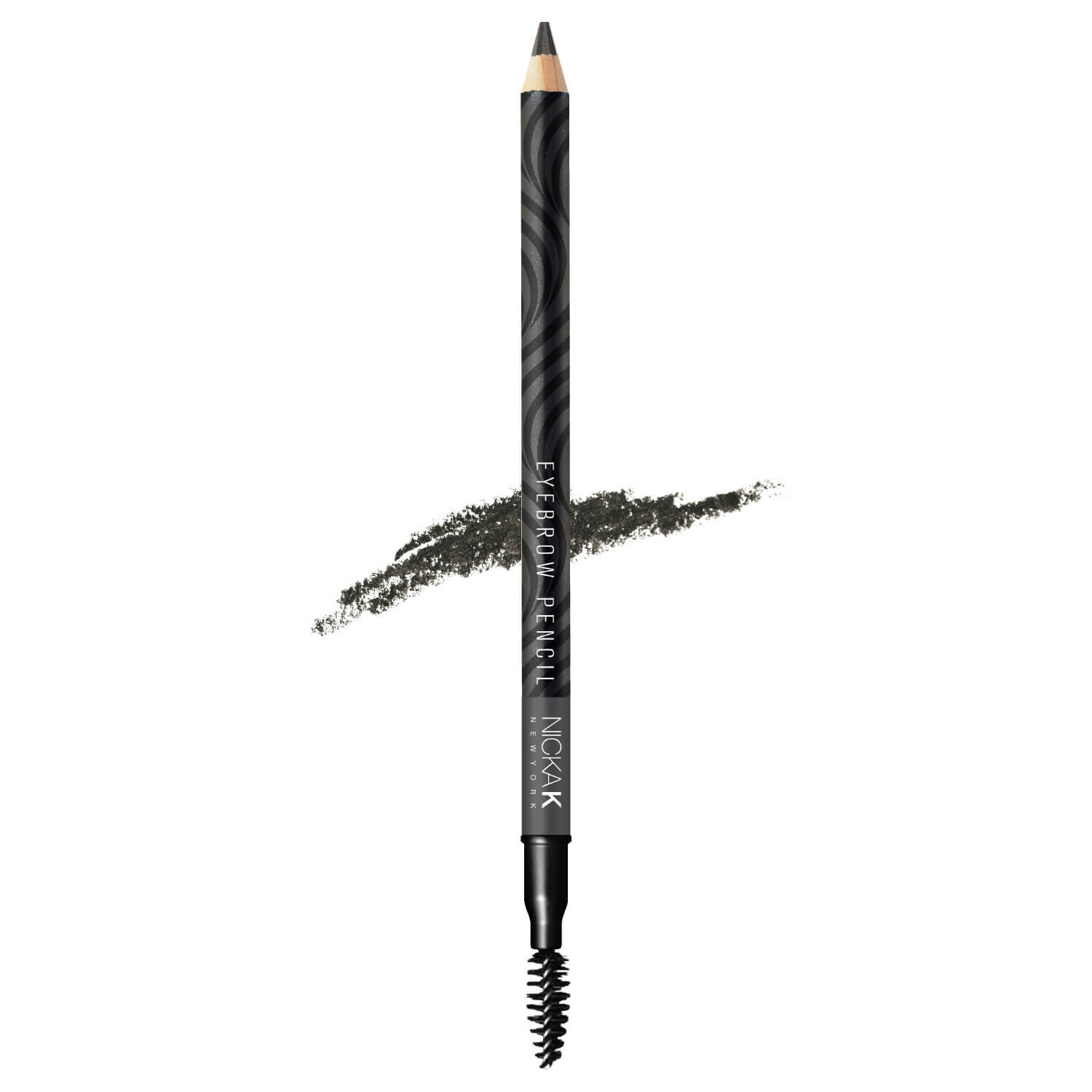 Discount (6 Pack) NICKA K Eyebrow Pencil NEP02 Charcoal Gray free shipping