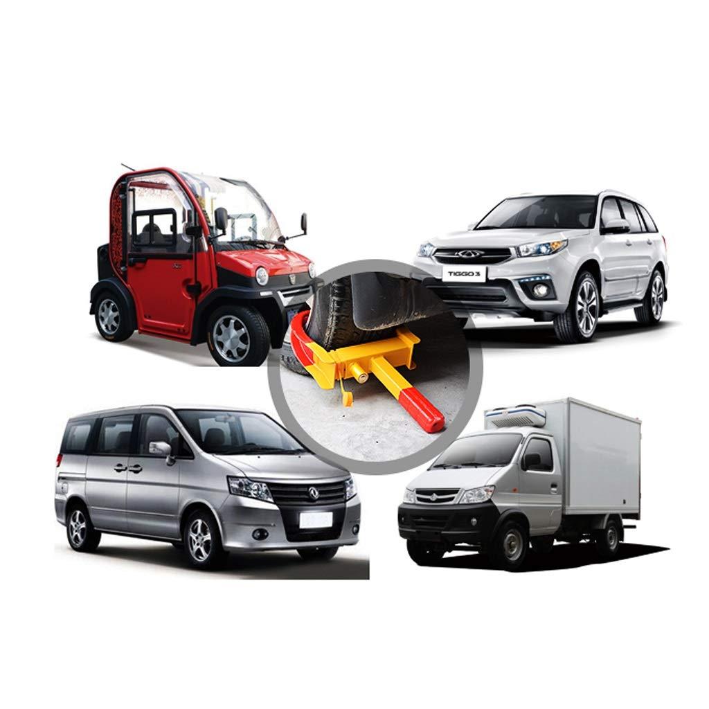 AJZGF Parkkralle Lock-Reifen Kraftfahrzeugdiebstahlsicherungssperrklinke Reifen radkralle Wohnwagen Size : 1.9kg verriegeln schwere Fahrzeugrad-Reifen das Rad Clip
