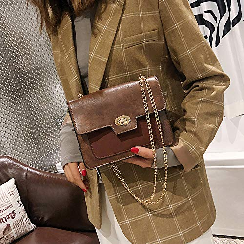 Merk Tous Hand Bebe Koffie Desigual Shoulder Bag Keten Handtassen Bag Alikeey Woman Vintage Women Backpack Winkelwagen Square Bag Man One Messenger Messenger Twn47q