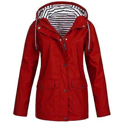 fc3fdeae70271 Amazon.com: Clearance Windproof COPPEN Women Christmas Rain Jacket Outdoor  Plus Waterproof Hooded Raincoat: Musical Instruments