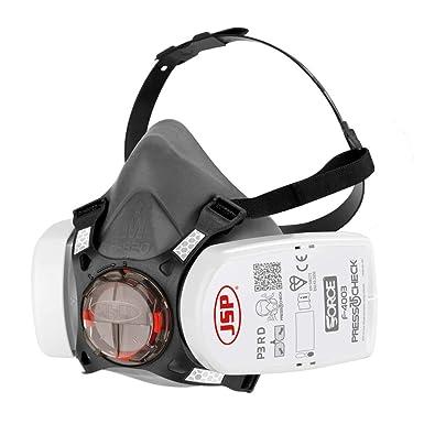 Masque Protection Respiratoire Double Couche Filtre Pulvérisation Peinture Brico