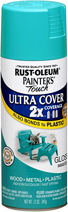 Rust-Oleum 267116 Painter's Touch Ultra Cover, 12 oz, Seaside