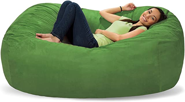 Shaggy Bag MicroSuede Bean Bag  or Foam Bag Cover Only Various Colors and Sizes