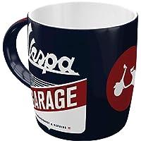 Nostalgic-Art Retro kaffemugg – Vespa – garage, stor licenskopp med vespa motiv, vintage presentidé för Vespa Roller…