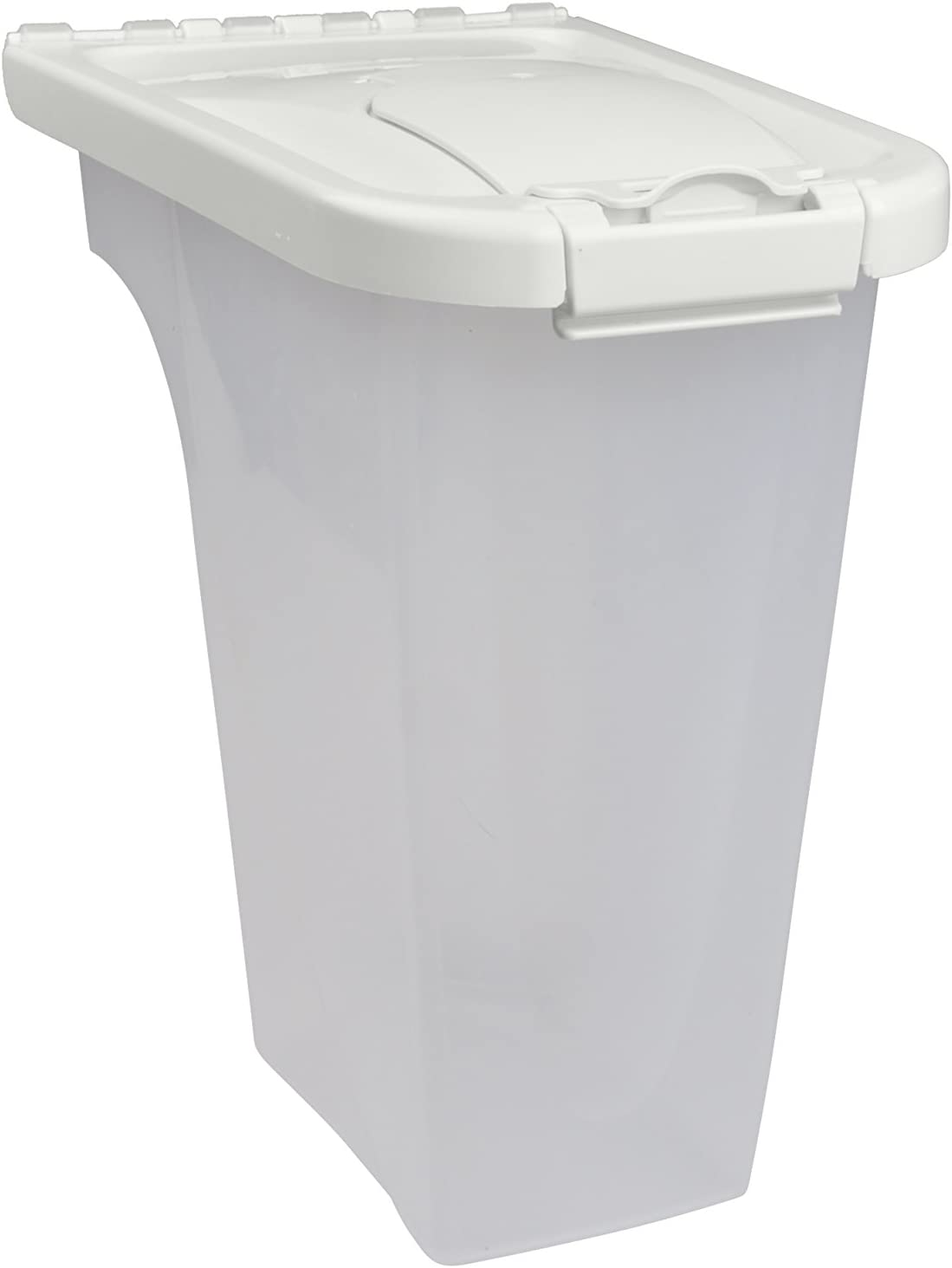 Van Ness 4-Pound Food Dispenser with Fresh-Tite Seal, White , Large (FD4)