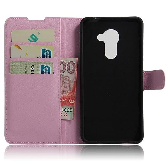 Ycloud Funda Libro para Vodafone Smart Platinum 7, Suave PU Leather Cuero con Flip Cover, Cierre Magnético, Función de Soporte,Billetera Case con Tapa para ...