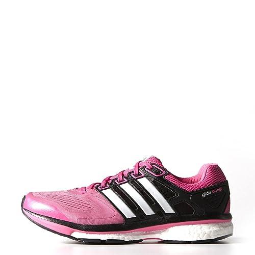adidas - Zapatillas de Running de Lona para Mujer Rosa Rosa 6 1/2: Amazon.es: Zapatos y complementos