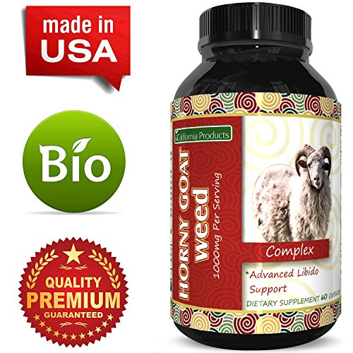 Horny Goat Weed Extract – Libido Supplement for Men & Women – Boosts Sex Drive & Increases Desire Naturally – Extra Strength Herbal Formula – With Maca Root & Tongkat Ali – By California Products by California Products (Image #4)