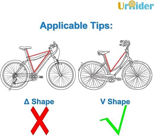 UrRider Asiento de bicicleta para niños, portátil, plegable y ...