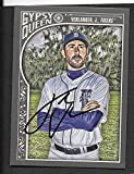 Justin Verlander Detroit Tigers autographed signed 2015 Topps card - - (Near Mint Condition)