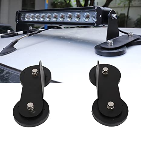 Amazon lightronic powerful mount bracket sucker holder magnetic lightronic powerful mount bracket sucker holder magnetic base for roof led light bar offroad aloadofball Gallery