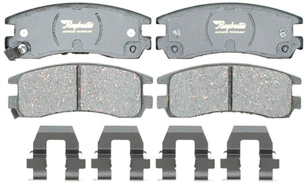 Raybestos ATD698C Advanced Technology Ceramic Disc Brake Pad Set