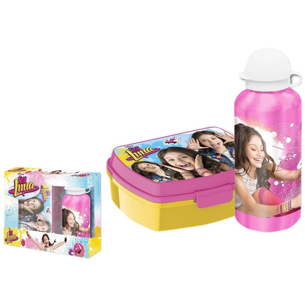 alluminio bottiglia dacqua Kids Euroswan Soy Luna WD18022 caso Sandwich
