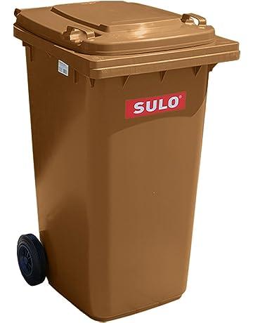 Sulo - Contenedor de basura (240 L), color marrón