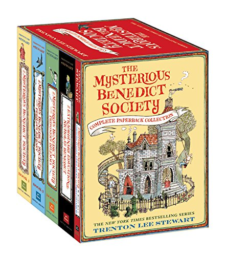 The Mysterious Benedict Society Complete Paperback Collection by Little, Brown Books for Young Readers
