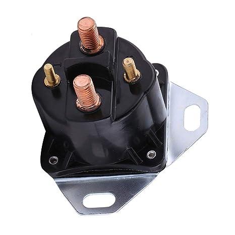 Kongqiabona Ford 7.3L Powerstroke Power Stoke Bujía de precalentamiento Diesel Relé de incandescencia Solenoide Reemplazo