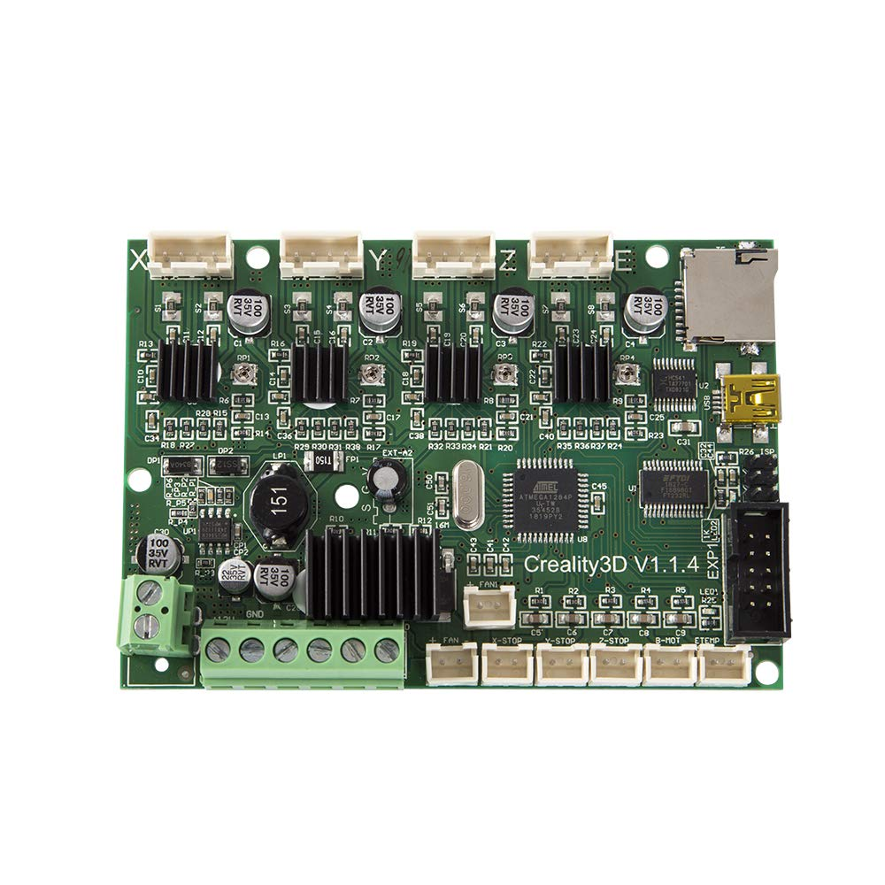 Gwisdom Creality Original Ender 3 3X placa madre de repuesto, placa base de control para Ender 3 Pro