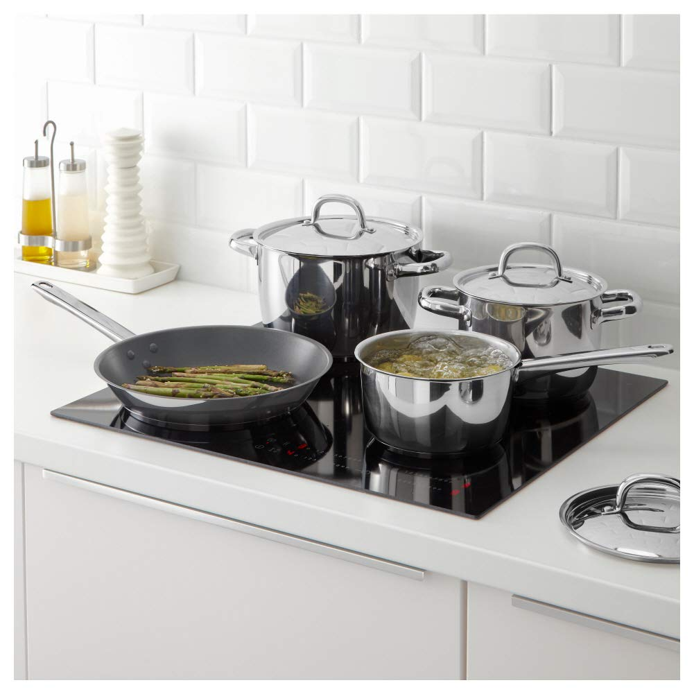 OUMBÄRLIG- Batería de cocina (7 piezas): Amazon.es: Hogar