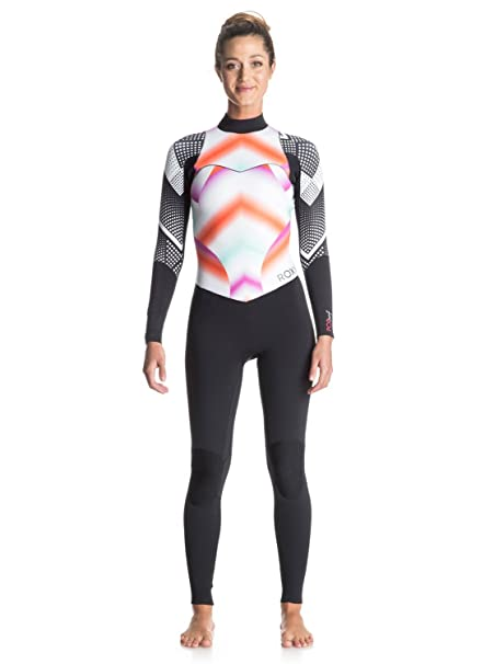 Roxy Pop Surf 4 3mm - Back Zip Full Wetsuit - Mujer  Roxy  Amazon.es  Ropa  y accesorios ecc052b54b7