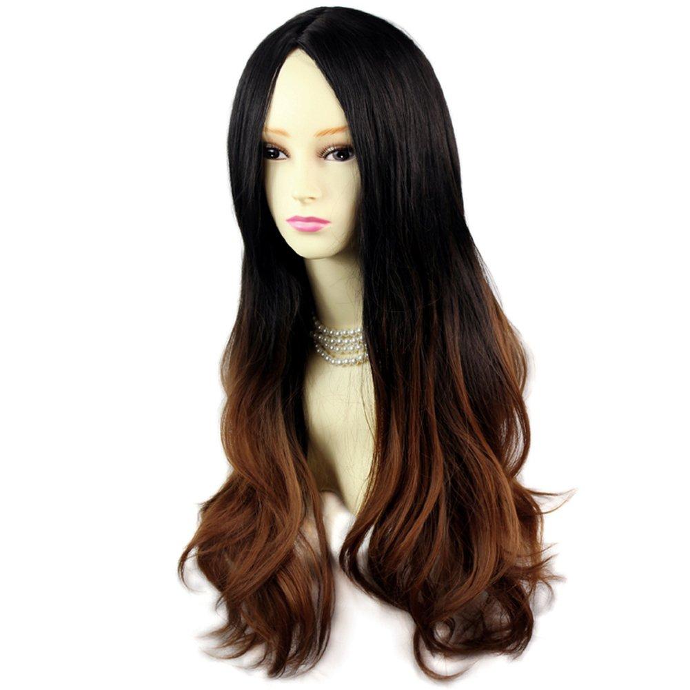 dip dye black hair brown wwwpixsharkcom images