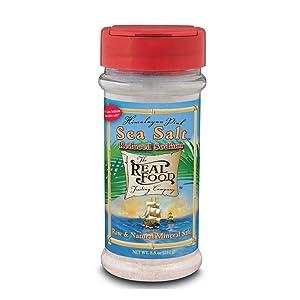 Himalayan Pink Salt Low Sodium FunFresh 8.8 oz Powder