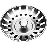 Stadux Stainless Steel Kitchen Sink Strainer Plug, Diameter:78mm